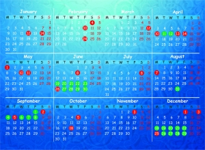 Maktab Calendar 2017