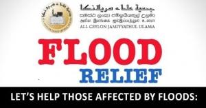 Let's help those affected by floods and landslide