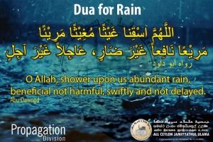 Let's pray for Rain