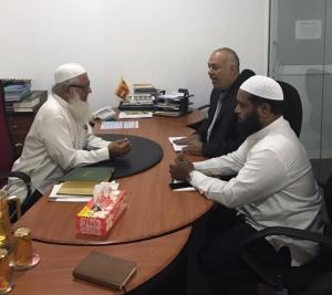 Palestinian Ambassador visits the ACJU