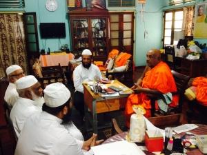 ACJU visits Ven. Professor Kamburugamuwa Vajira Thero